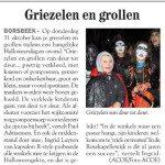 Artikel uit de streekkrant Antwerpen-Oost 24/10/2013