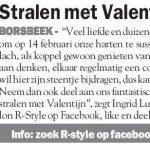 T is Valentijn in Borsbeek. Win bij R-style een kappersbeurt voor twee. Kijk snel naar de facebook actie