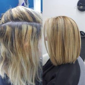 haarkleur laten corrigeren