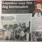 Horrorsalon - kappers op halloween