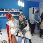 sinterklaas op het kapper kinderfeest in borsbeek
